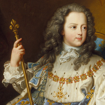 Louis XV closeup