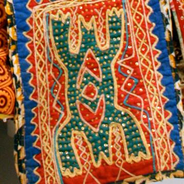 Egungun Costume close-up