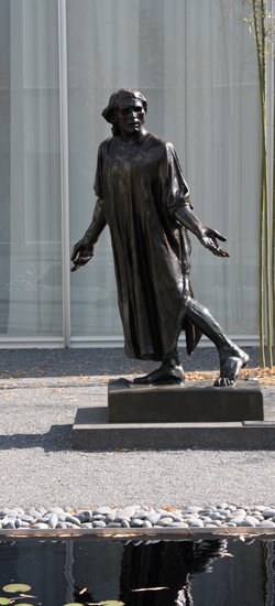 Jean de Fiennes, Clothed, modeled 1885-86, cast 1983 (bronze) North Carolina Museum of Art