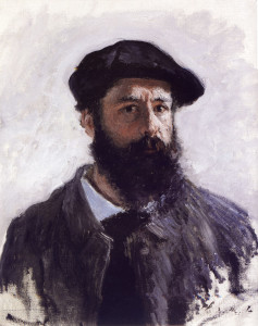 Claude Monet Self-Portrait