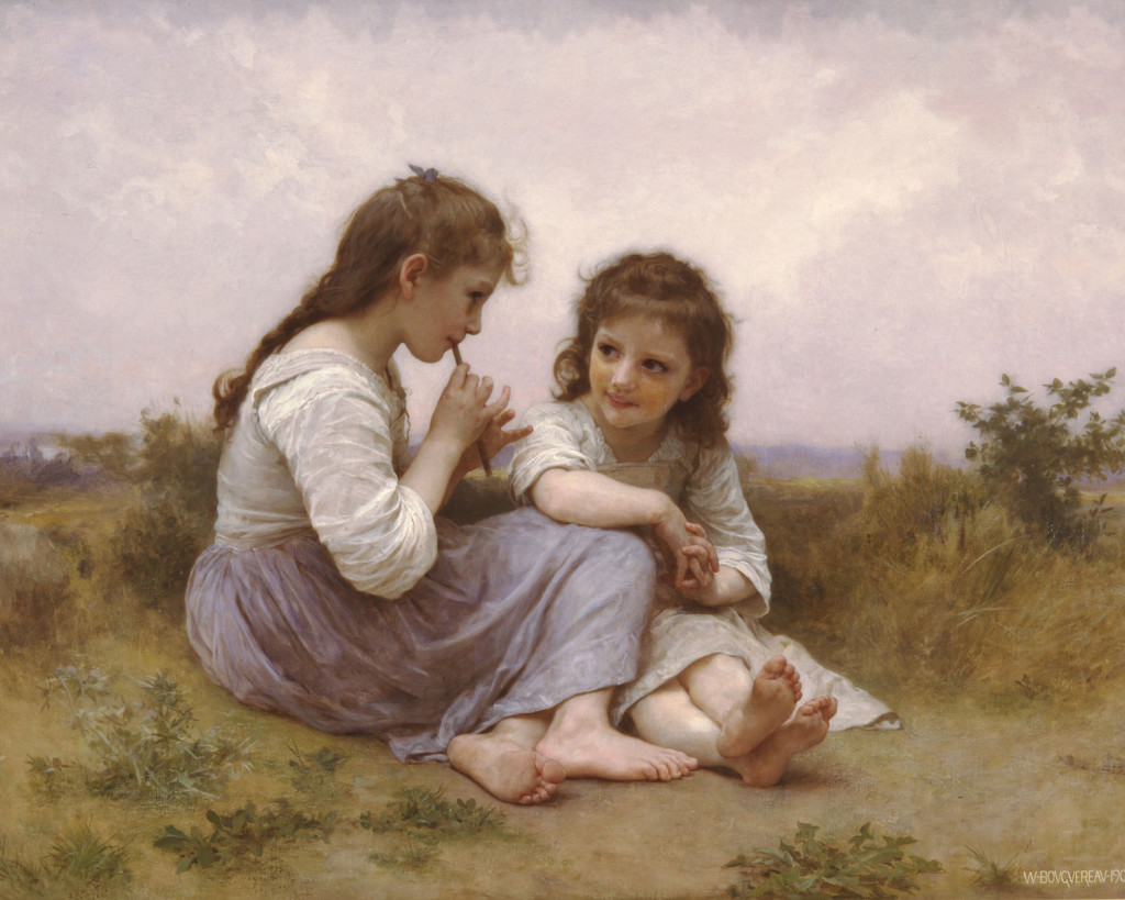A Childhood Idyll, William-Adolphe Bouguereau, 1900 (oil on canvas) Denver Art Museum, Denver, Colorado