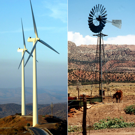 Windmills – New and Old