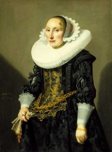 Adriana van der Aa, Jan Daemen Cool, Dutch, 1633 (oil on panel) North Carolina Museum of Art
