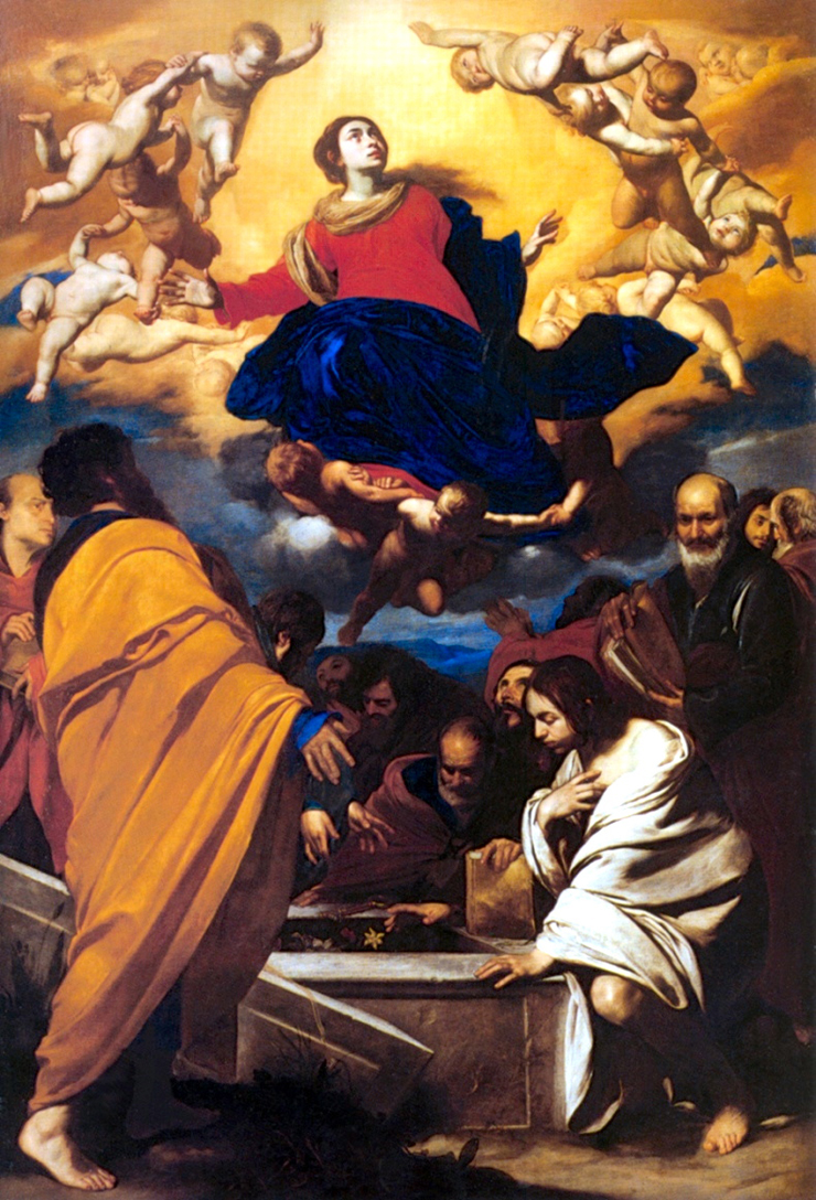 The Assumption of the Virgin in full view