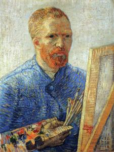 Self Portrait, Vincent Van Gogh, Van Gogh Museum, Amsterdam