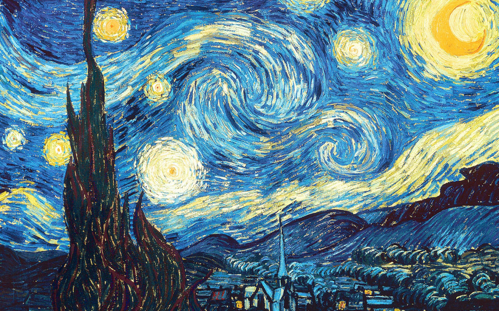 The Starry NightVincent Willem van Gogh, Dutch, 1889 (oil on canvas)Museum of Modern Art, New York