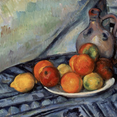 Fruit and a Jug on a Table