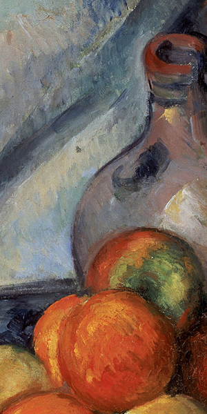 Fruit and a Jug on a Table Close-up