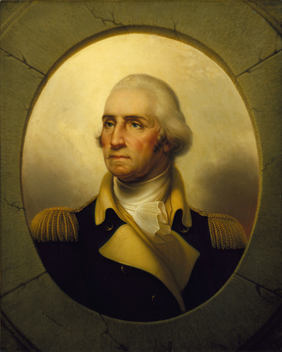 George Washington Rembrandt Peale, American, circa 1855 (oil on canvas) North Carolina Museum of Art