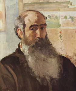 Self Portrait Camille Pissarro, 1873
