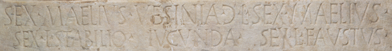 Roman Funerary Monument Inscription