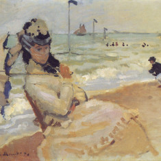 camille-on-the-beach-at-trouville1