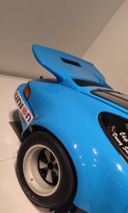 Porsche Type 911 rear spoiler